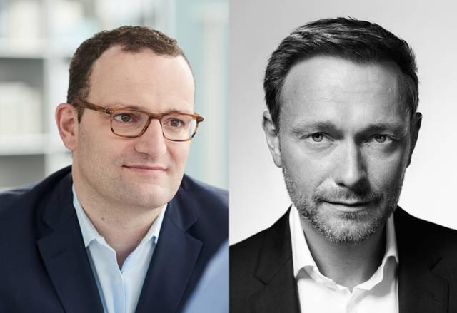 Jens Spahn und Christian Lindner