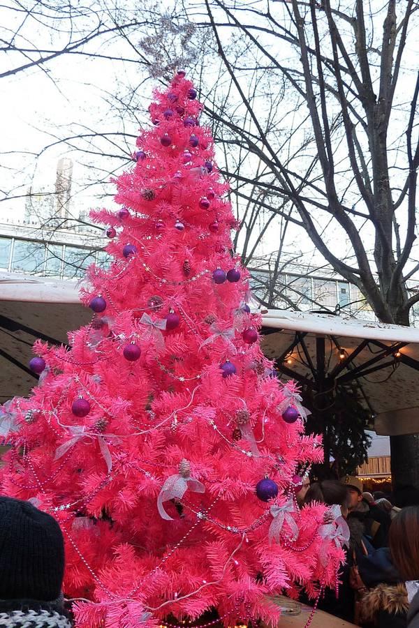 Rosa Weihnacht Frankfurt