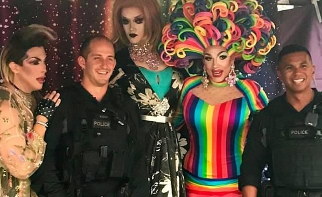 Vancouver Pride Polizisten