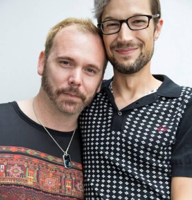 David Mullins und Charlie Craig