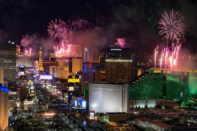 Silvester Las Vegas