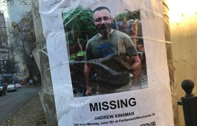 Missing Andrew Kinsman