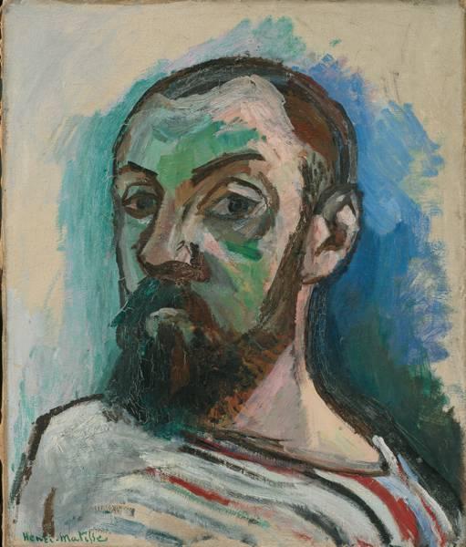 "Henri Matisse ""Selbstporträt"""