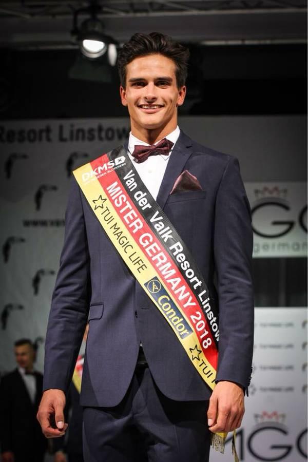 Pascal Unbehaun Mister Germany 2018