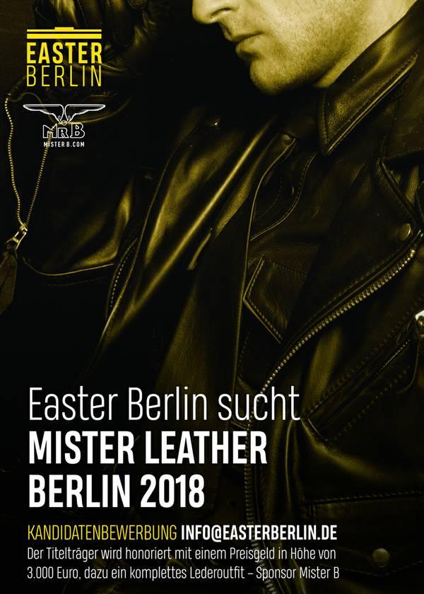 Mister Leather Berlin 2018