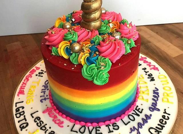 Schwuler Kuchen