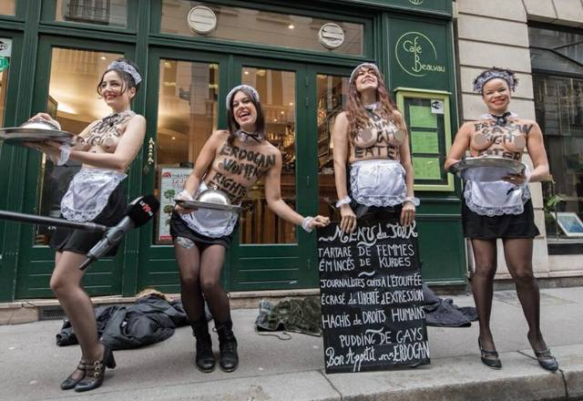 Femen Paris 0118