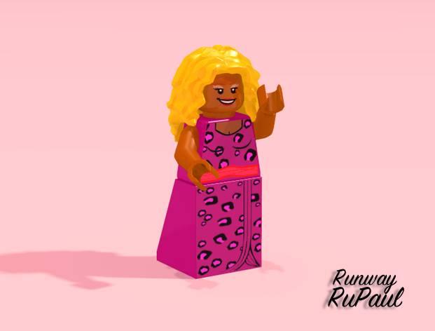 RuPaul's Brick Race
