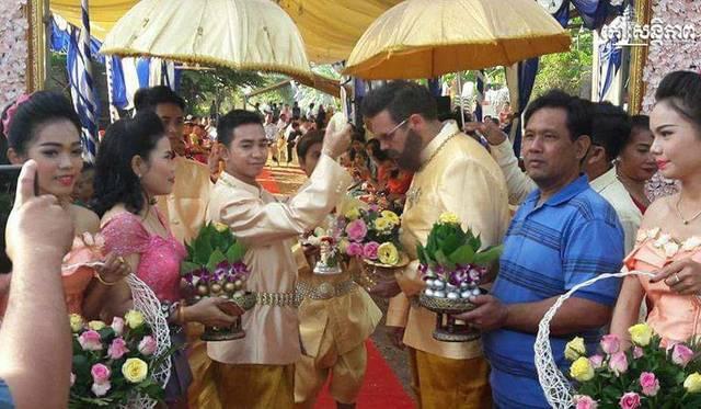 Hochzeit Kratie / Kambodscha