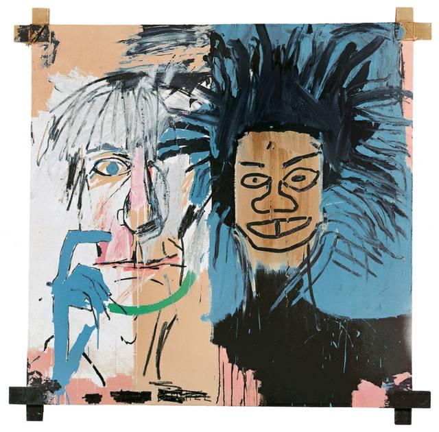 """Basquiat_Dos_Cabezas_1982"""