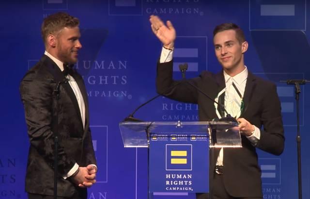 HRC Awards 2018 Rippon / Kenworthy
