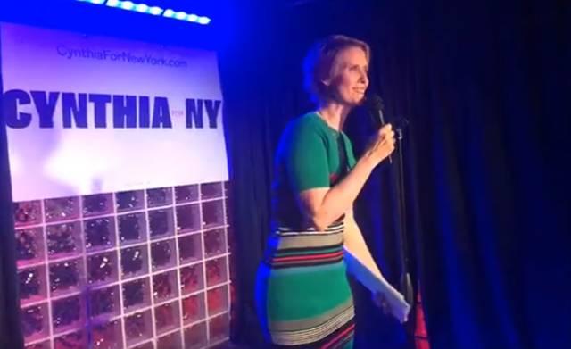 Cynthia for NY Stonewall
