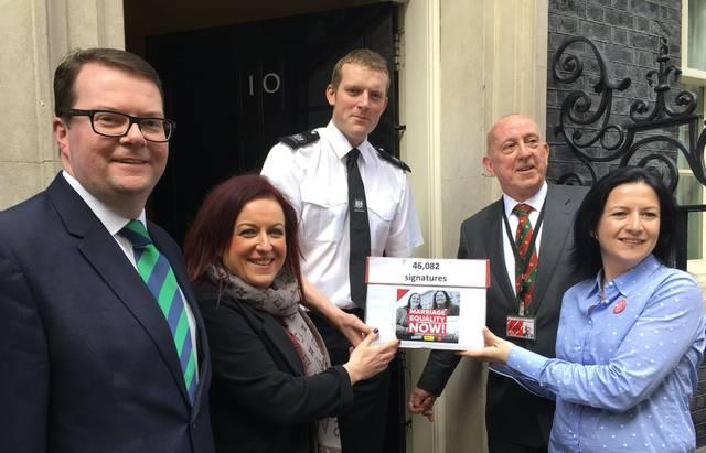 Love Equality NI @ Downing Street