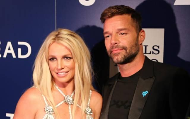 Britney Ricky GLAAD Awards 2018