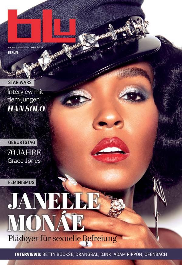 Janelle Monáe 2018 blu