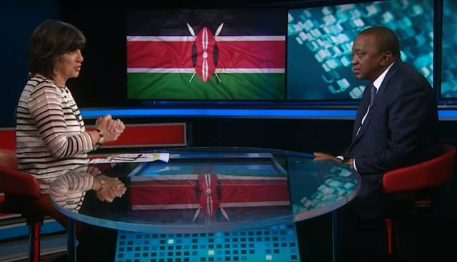 Amanpour / Kenyatta / CNN