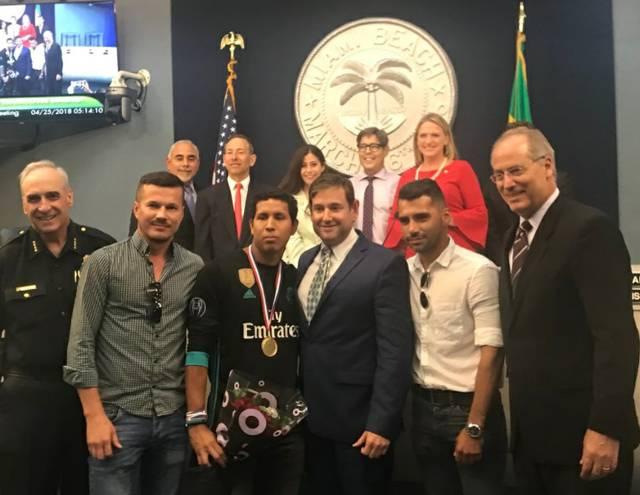 Gongora / Miami Medal