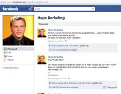 Foto: Screenshot www.facebook.com/hape.kerkeling
