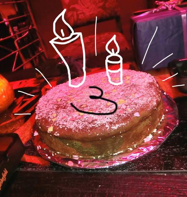 3 Geburtstag