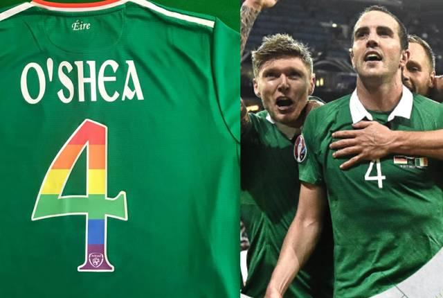 FA Ireland Fußball Pride