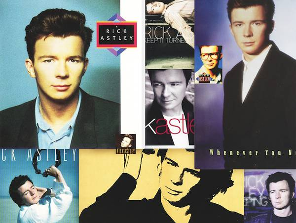 Rick Astley Collage