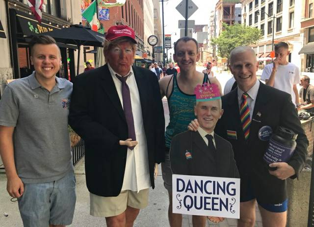 Big Gay Dance Party Ohio fuer Mike Pence