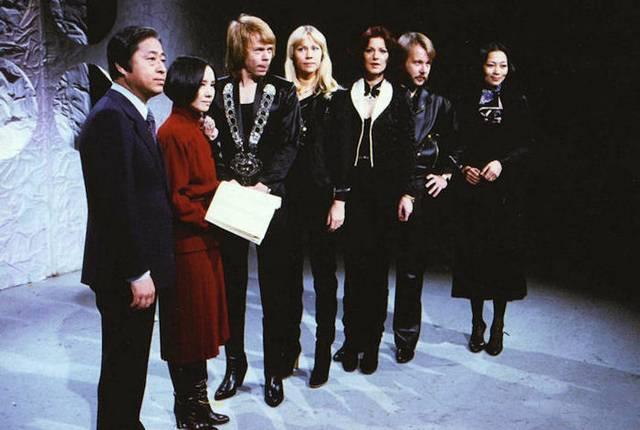 ABBA 1978 in Japan