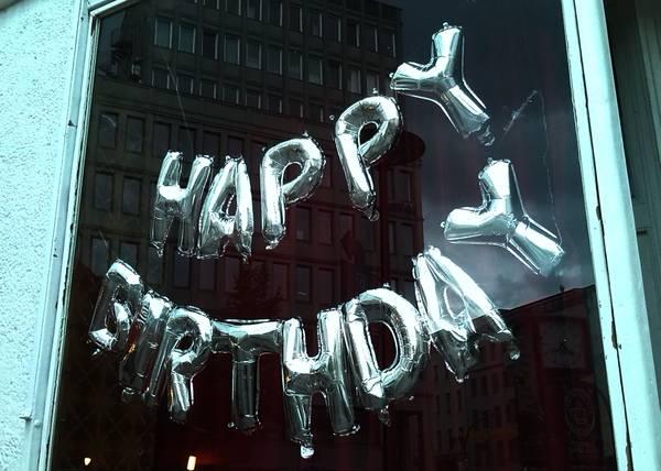 Happy Birthday, Geburtstag