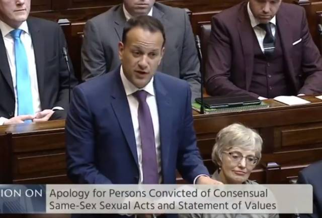 Leo Varadkar Apology