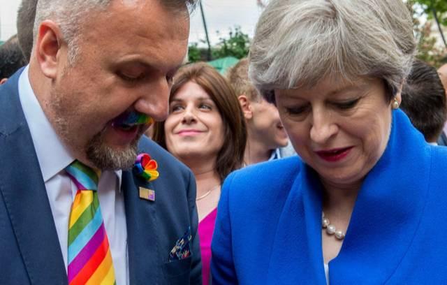 Theresa May Action Plan LGBT 2018