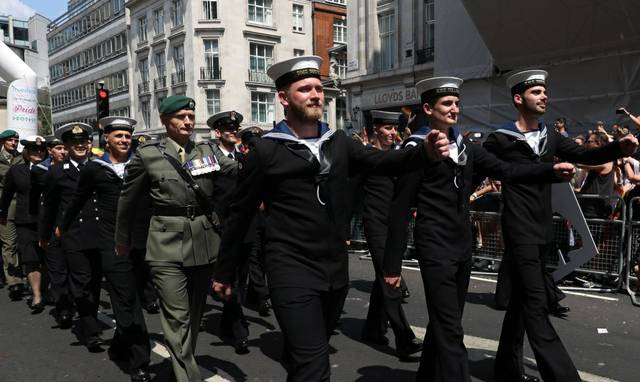 Royal Navy Pride London