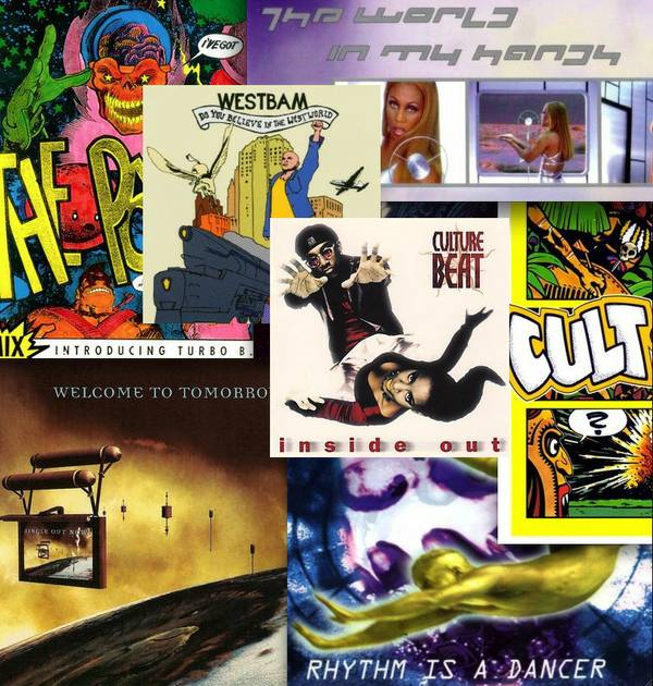 Eurodance-Collage
