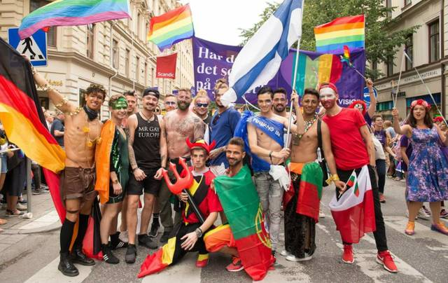 Mr Gay Euroep 2017 Stockholm