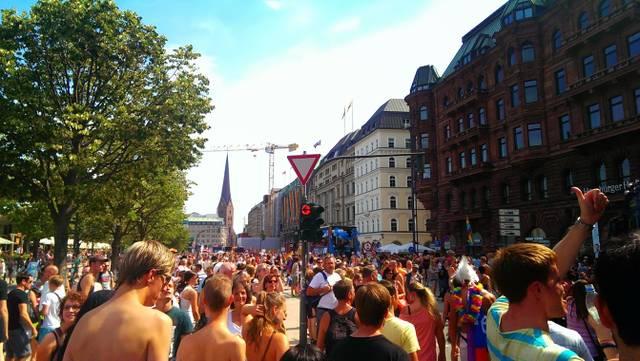 Jungernstieg Hamburg, CSD 2013