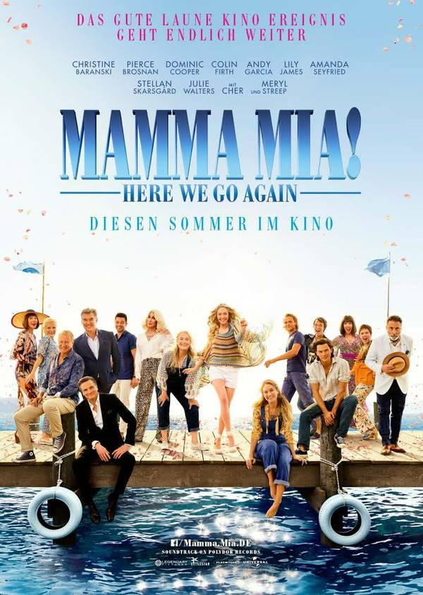 Mamma Mia! Here We Go Again Cher Meryl Streep ABBA