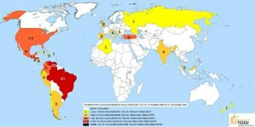 TDOR2009-Aktualisierung der Ergebnisse von TGEUs Trans Murder Monitoring-Projekt