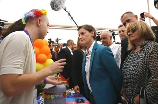 Brnabic Belgrad Pride