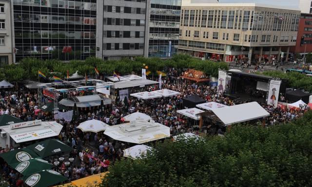 CSD Frankfurt - Festplatz