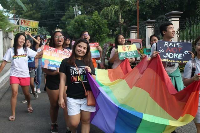 Miagao Pride March