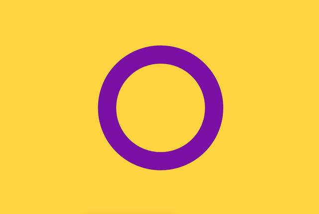 Intersexualität Flagge