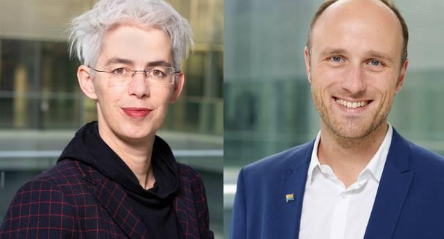 Ulle Schauws und Sven Lehmann