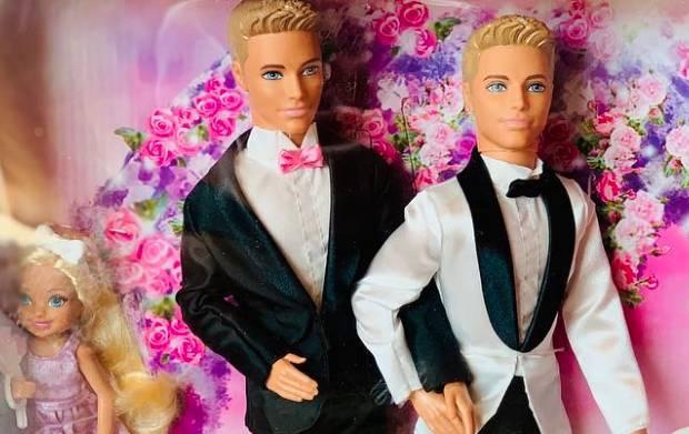 Barbie Ken mit Ken