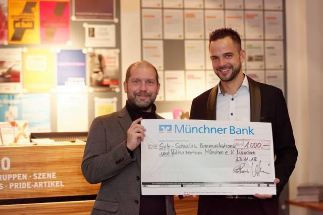MünchnerBankspendet
