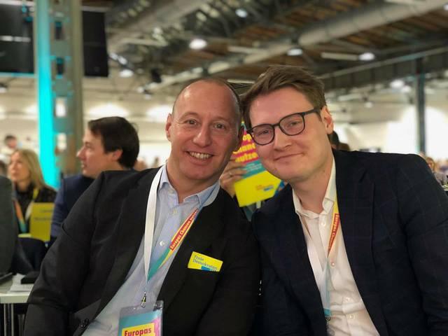 Michael Kauch und Moritz Körner