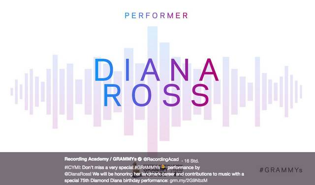 #GRAMMYS: Diana Ross