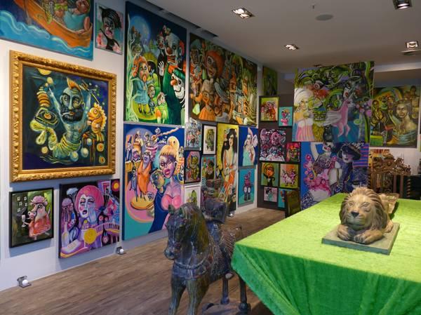 FY I AM FAMOUS Künstlergalerie