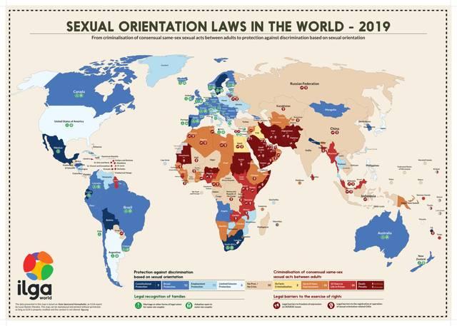 ILGA World Map 19