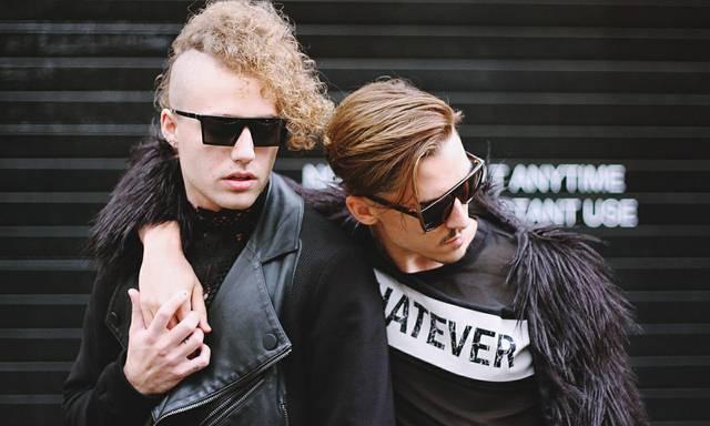Coming-out schnurrbart liebe punk