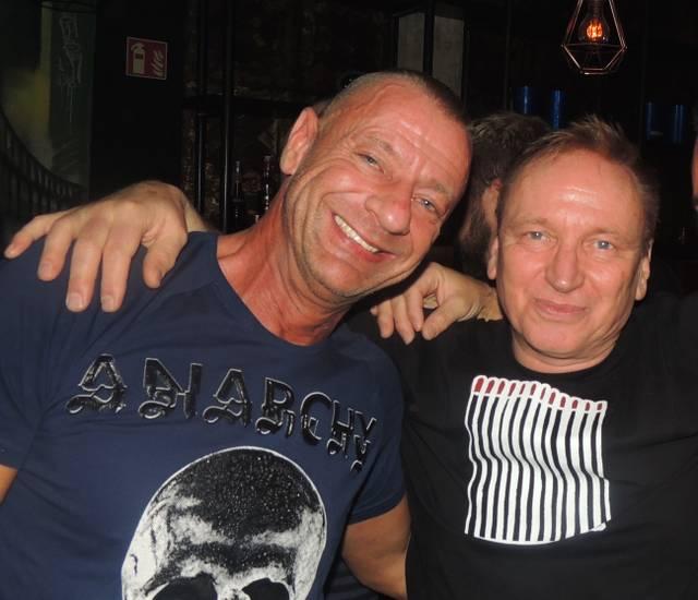 Club 78: Ralf Bareuter und DJ Dirk Vox
