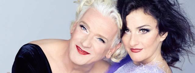 Georgette Dee und Cora Frost